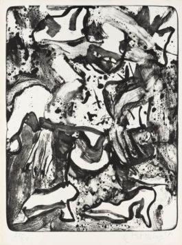Willem de Kooning-Minnie Mouse-1971