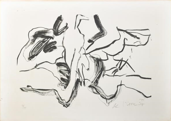 Willem de Kooning-Mother and Child-1970