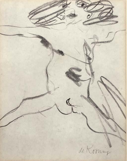 Willem de Kooning-Nude-1955