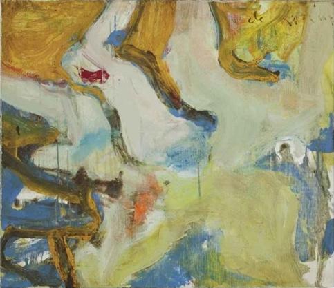 Willem de Kooning-Nude-1965