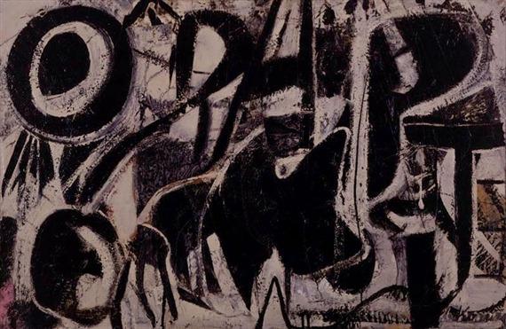 Willem de Kooning-Orestes-1947