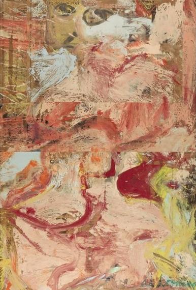 Willem de Kooning-Paging Women-1964