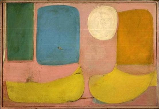 Willem de Kooning-Pink Landscape-1938