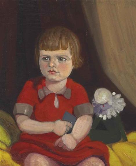 Willem de Kooning-Portrait of Renée-1924