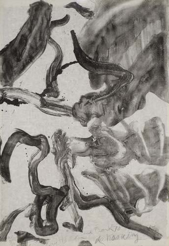 Willem de Kooning-Reflections: to Kermit for our Trip to Japan-1971