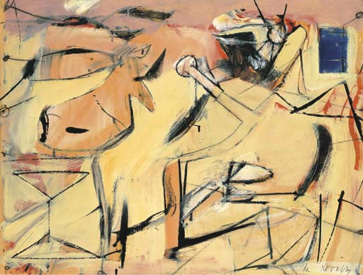 Willem de Kooning-Sail Cloth-1949