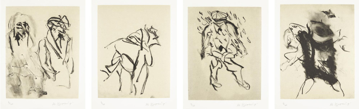Willem de Kooning-Seventeen Lithographs for Frank O'Hara-1988