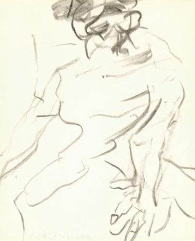 Willem de Kooning-Single Female Figure-1981