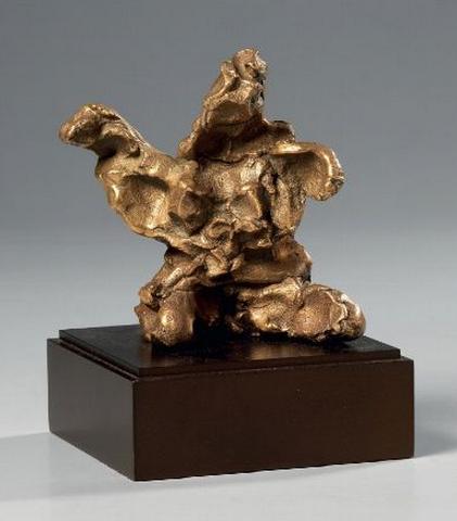 Willem de Kooning-Sitting Figure (dalla serie Leda and the Swan)-1987