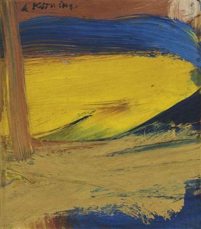 Willem de Kooning-Small Painting #3-1958