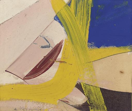 Willem de Kooning-Small Painting #8-1958
