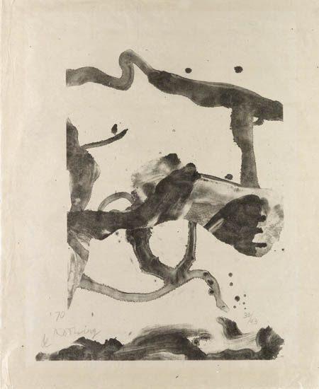 Willem de Kooning-Souvenir of Montauk-1970