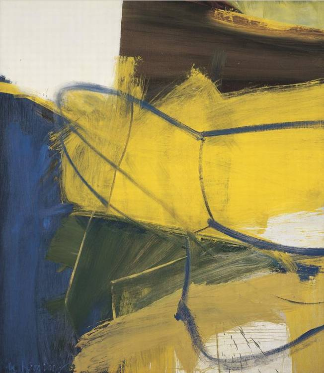 Willem de Kooning-Spike's Folly I-1959