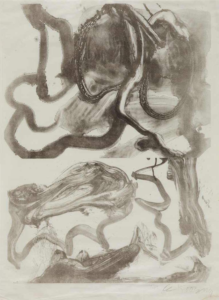 Willem de Kooning-Sting Ray-1971