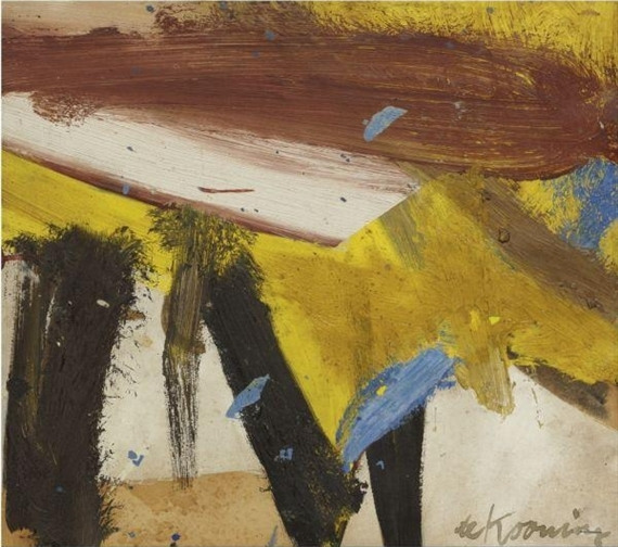 Willem de Kooning-Study For Lisbeth's Painting-1958