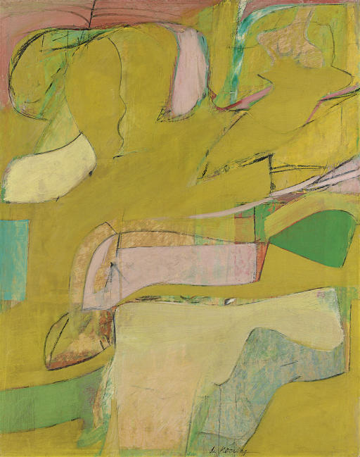 Willem de Kooning-Study for Marshes-1946