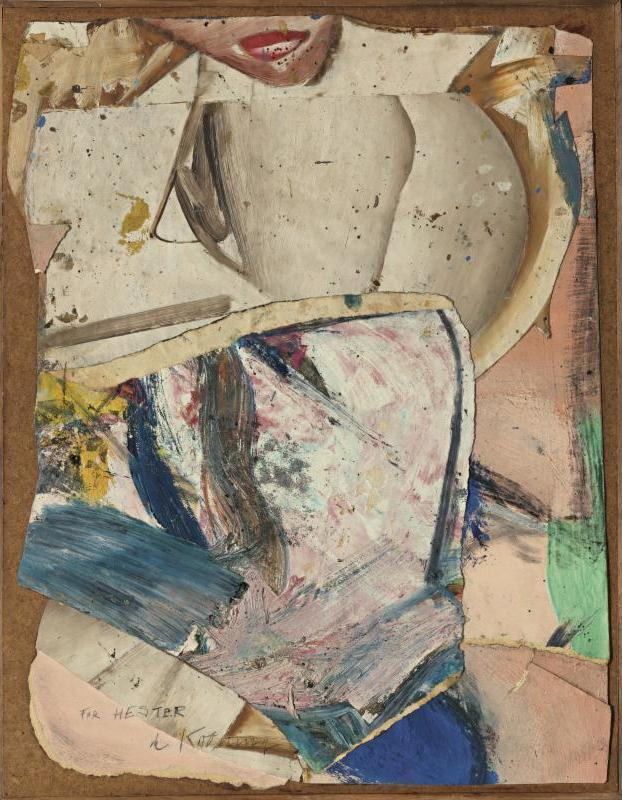 Willem de Kooning-Study for Woman IV-1953