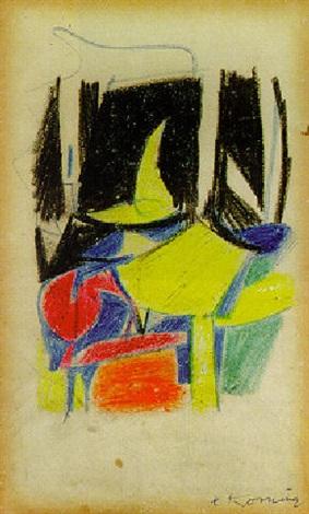 Willem de Kooning-The Torso-1940