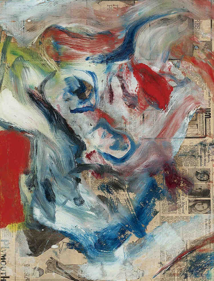 Willem de Kooning-The Wind Horse-1980