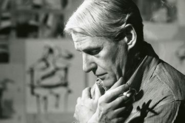 Willem de Kooning - The artist in his studio - Image via wikipediaorg world like