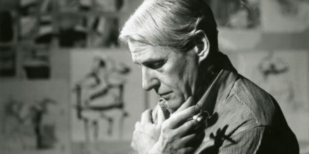 Willem de Kooning - The artist in his studio - Image via wikipediaorg world like