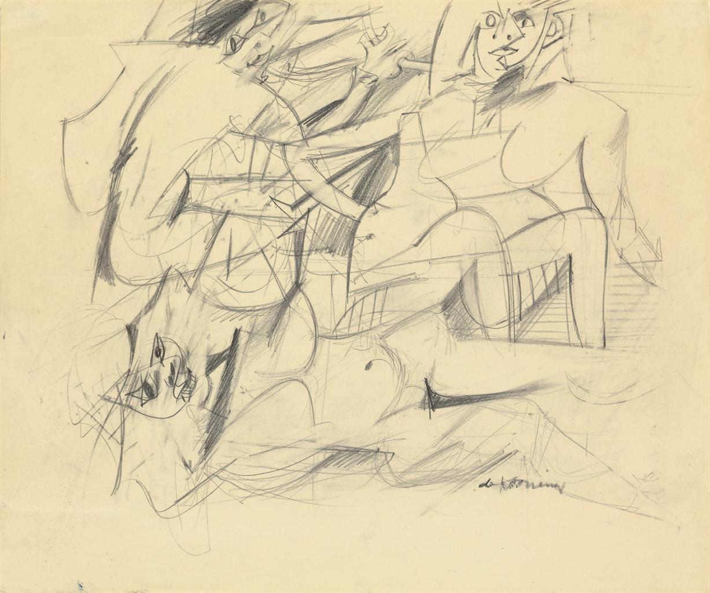 Willem de Kooning-Three Women-1952