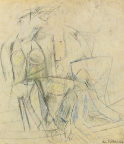 Willem de Kooning-Two Women-1947