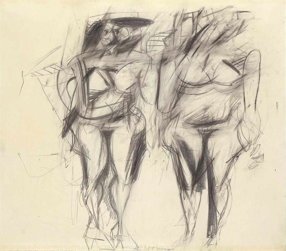 Willem de Kooning-Two Women-1951