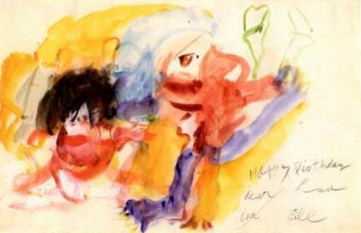 Willem de Kooning-Two Women-1967