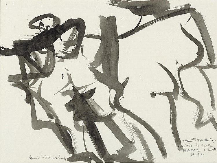 Willem de Kooning-Two Women-1968