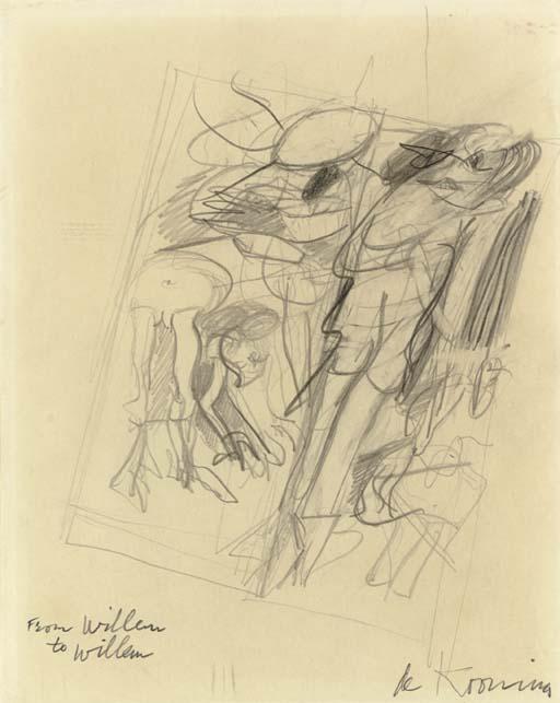 Willem de Kooning-Two Women-1975