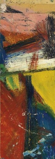 Willem de Kooning-Untitled #1-1958