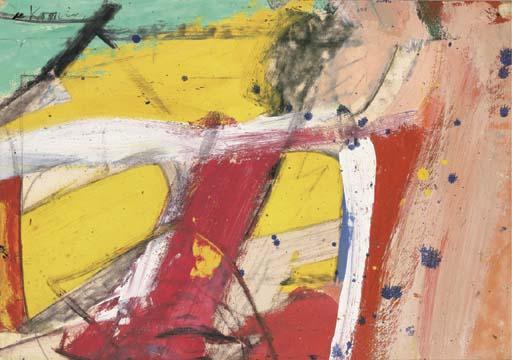 Willem de Kooning-Untitled #10-1958