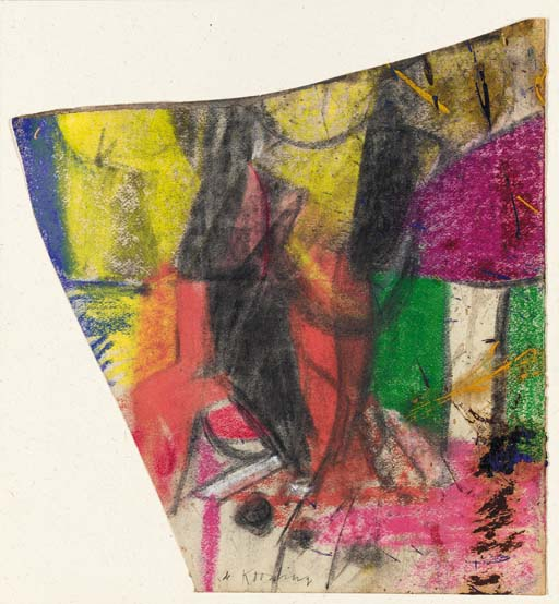 Willem de Kooning-Untitled #15-1958