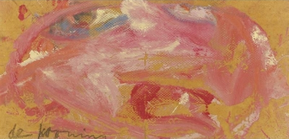 Willem de Kooning-Untitled (Abstract Pink Painting)-1964