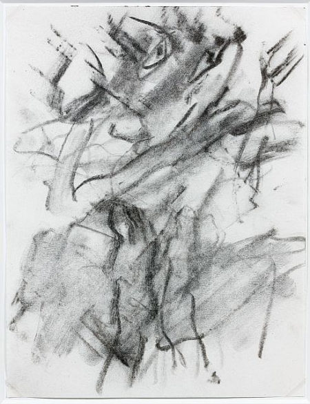 Willem de Kooning-Untitled (Figure Drawing)-1969
