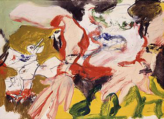 Willem de Kooning-Untitled #5-1977