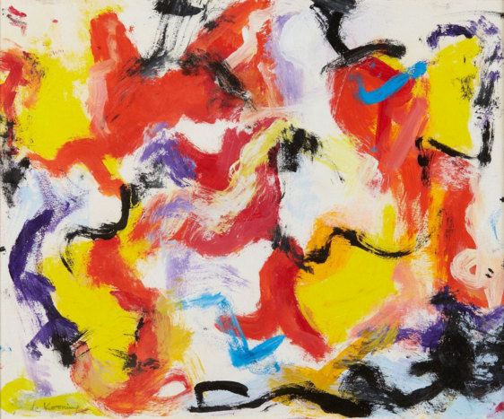 Willem de Kooning-Untitled (Abstract Painting)-1977