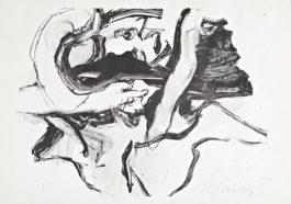 Willem de Kooning-Untitled (Bather I)-1971
