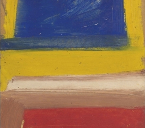 Willem de Kooning-Untitled (Composition Red, Yellow, Blue)-1960
