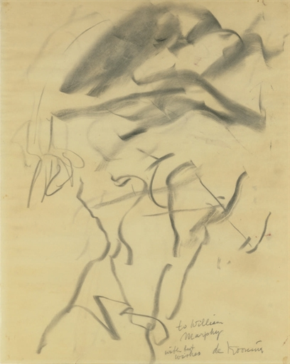 Willem de Kooning-Untitled (Drawing, 'to Willem Murphy')-