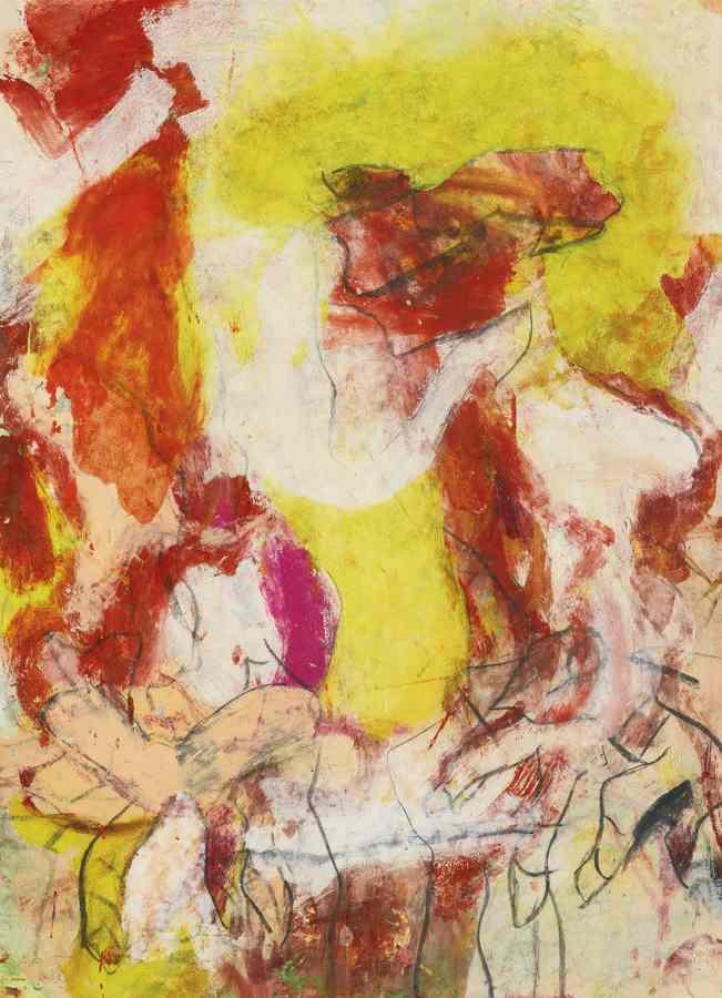 Willem de Kooning-Untitled-1979