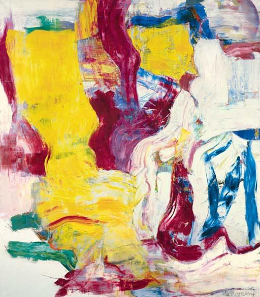 Willem de Kooning-Untitled I-1981