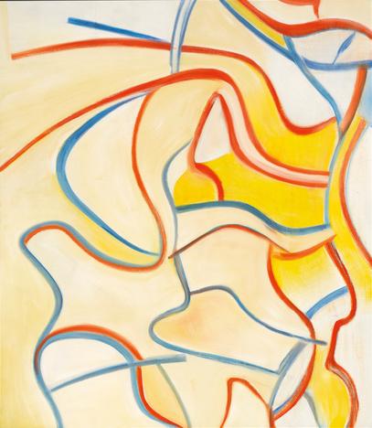 Willem de Kooning-Untitled II-1986