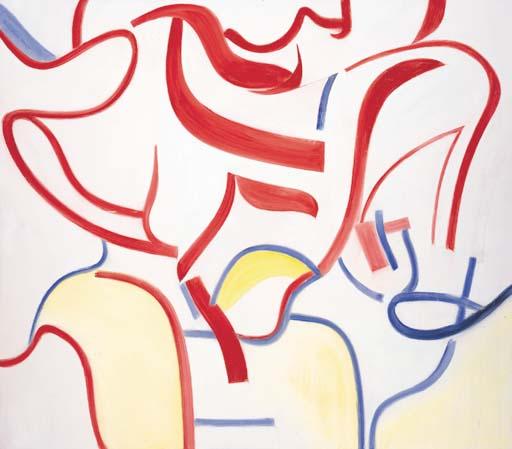 Willem de Kooning-Untitled III-1985