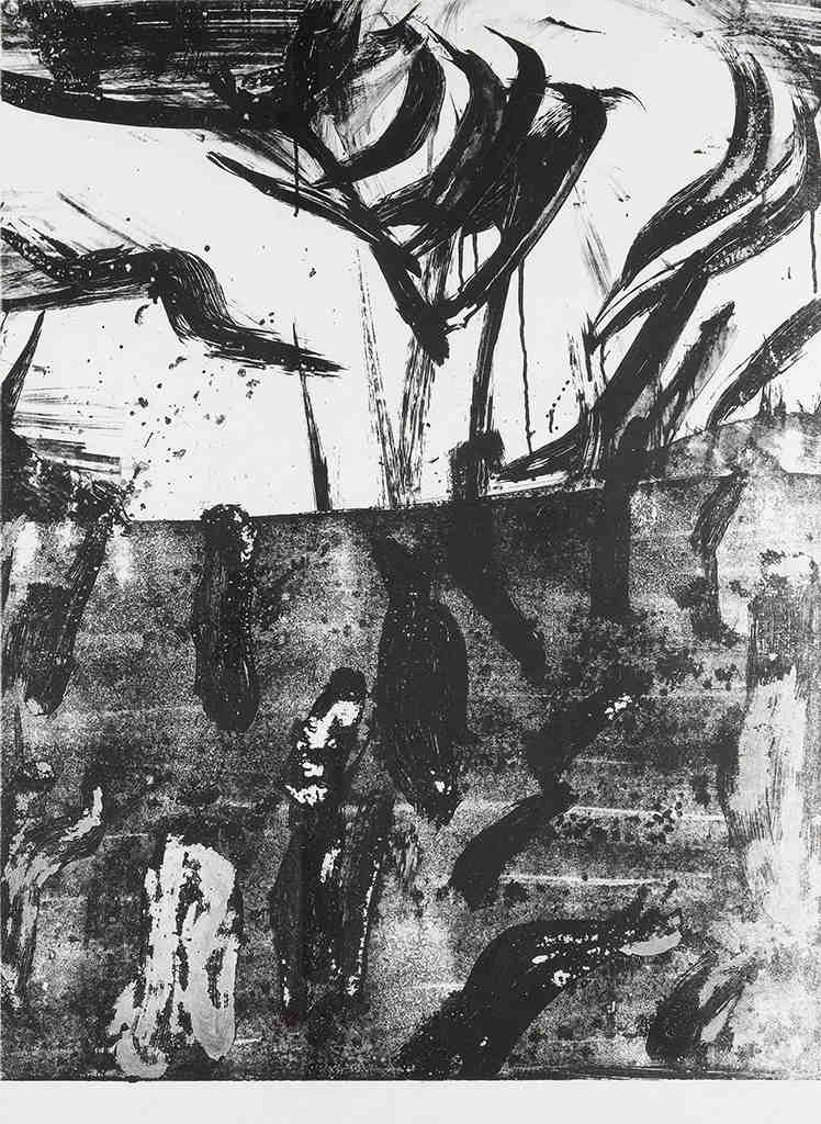 Willem de Kooning-Untitled (Litho #7)-1966