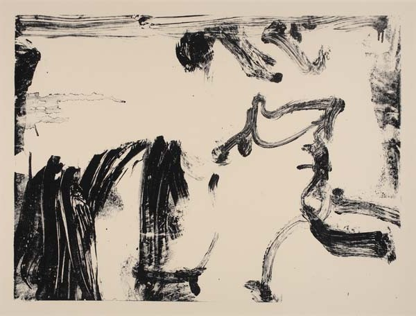 Willem de Kooning-Untitled (Litho #8)-1966