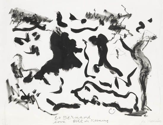 Willem de Kooning-Untitled (Lithograph on Somerset Satin)-1975