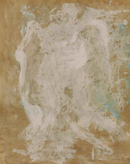 Willem de Kooning-Untitled (Nude)-1964