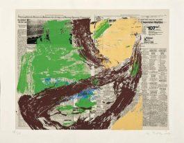 Willem de Kooning-Untitled (Silkcreen in Colors)-1975